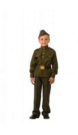 Солдат зелёный (текстиль)