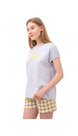 пижама к/р-шорты жен.