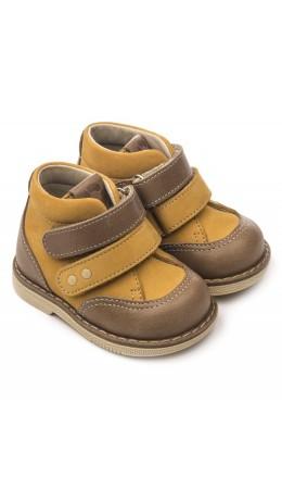 Ботинки детские 24018 кожа, НАРЦИСС терракот