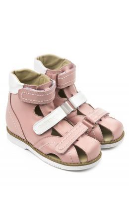 Сандалии детские 26012, кожа ФИАЛКА розовый
