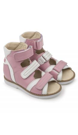 Сандалии детские 26016, кожа ФИАЛКА розовый