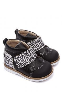 Ботинки детские 24015 ЧЕЧЁТКА чёрный/чечетка