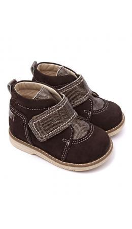 Ботинки детские 24015 НАРЦИСС коричневый/твид