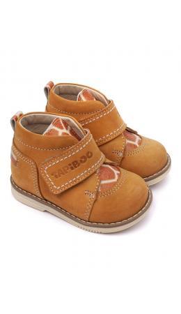Ботинки детские 24015 НАРЦИСС терракот/жираф