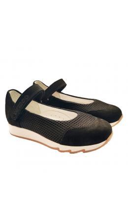 Туфли детские 25017 кожа, СТЕП черный