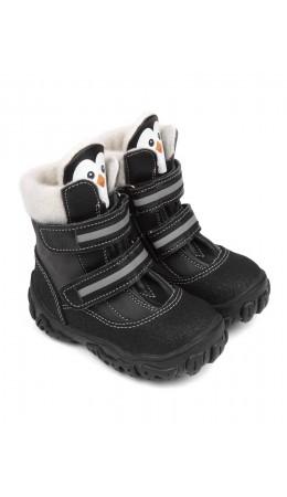 Ботинки детские 23011 кожа, БЕРЛИН серый