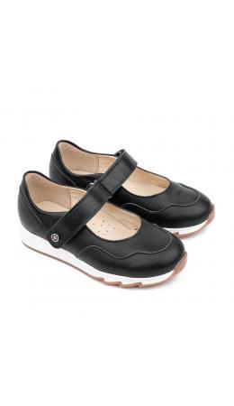 Туфли детские 25016 кожа, СТЕП чёрный