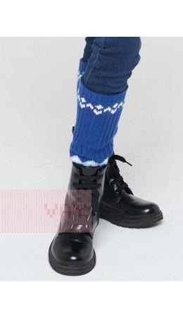 Гетры 202-8199; 037/10054/14-4317 ниагара/белый/холодный голубой