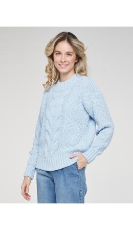 Джемпер женский BY202-40060; 9765 жемчужно-голубой