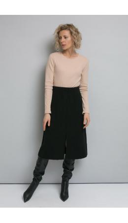 ЕВ 718/ш/черный юбка