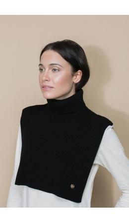 ЕВ 28000/ш/черный шарф-манишка