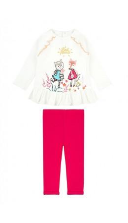 Комплект детский для девочки ((1) джемпер и (2) рейтузы) Lurida цветной