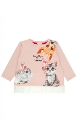 Джемпер детский для девочек Beetla PX розовый
