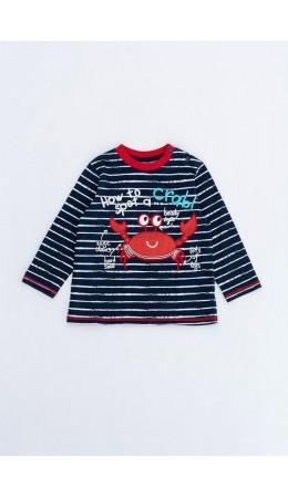 Джемпер детский для мальчиков Lobsterus темно-синий