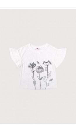К 301033/молочный блузка