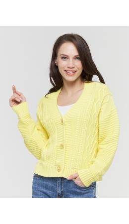 Жакет женский BY211-14040; 6118 лимон