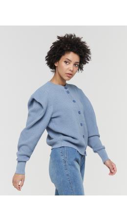 Жакет женский BY211-14042; 7386 голубой камень