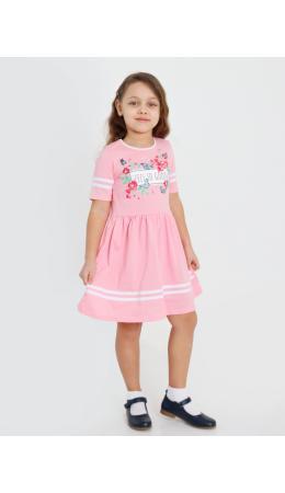 Платье 'Мариэтта-1' с шелкографией