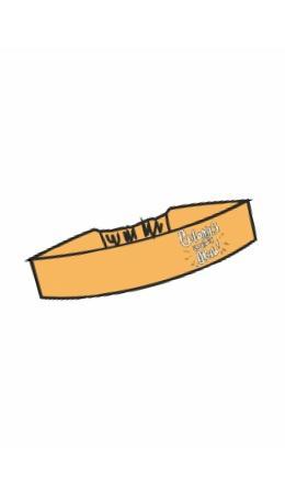 CLE LA19-785 Повязка д/волос (Мауси), т.жёлтый