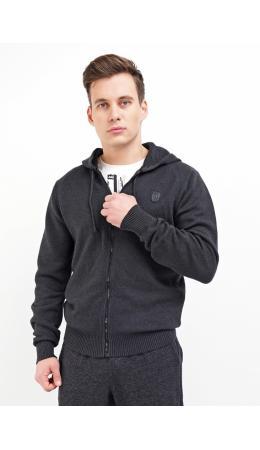 CLE Куртка муж. 502696/05ха, меланж т.серый