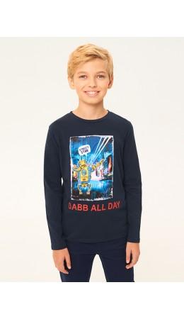 Джемпер детский для мальчиков Rendell 2-Inf темно-синий