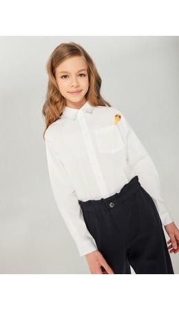 Блузка детская для девочек Karen белый