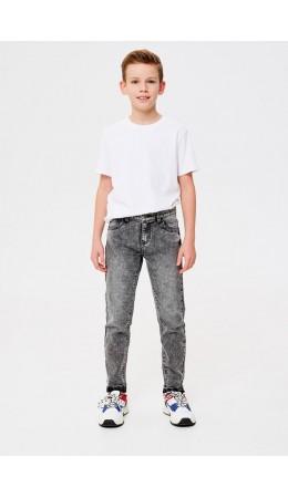 Брюки джинсовые детские для мальчиков Walt серый