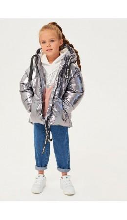 Куртка детская для девочек Paloma серебряный