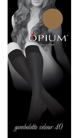 Гольфы Opium Gambaletto Velour 40 den
