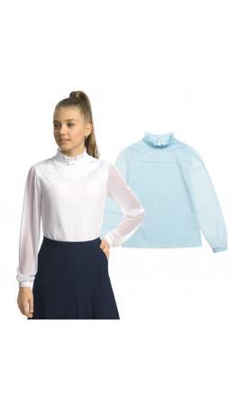 Джемпер для девочек Голубой(9)