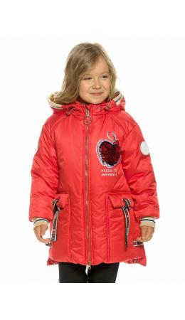 Куртка для девочек Красный(18)