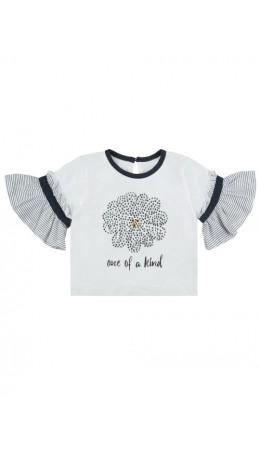 Блузка детская для девочек Cama белый