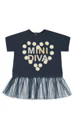 Платье детское для девочек Camolita темно-синий