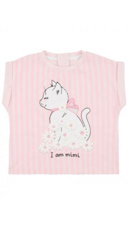 Блузка детская для девочек Fumiko светло-розовый